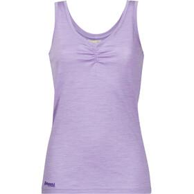 Bergans Linnea Wool - Camisa sin mangas Mujer - violeta